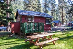 Wallowa lake cabin 1