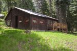 A cabin that is off the beaten path so you get peace and quiet.