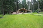 Quite 3 bedroom cabin with large yard