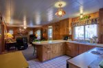 Spacious kitchen with all the amenities needed for a wonderful time.