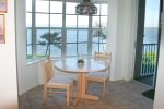 Eat-In Kitchen With Wide River View & Balcony Access