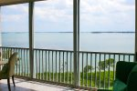 Balcony View Overlooking Wide Intracoastal Waterway