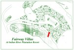 Fairway Villas Site Plan With 302 Arrow
