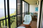 Balcony View Overlooking the Intracoastal Waterway, Expanded Patio to Master Bedroom