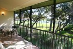 Balcony off Living Area Overlooking 4th Green of Golf Course