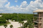 View From Front Door of Residence West Towards Intracoastal Waterway
