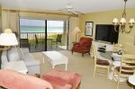 Living Room With Direct Oceanfront Balcony Access