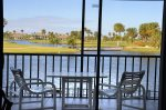 Balcony View Overlooking Lake & Golf Course