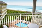 Balcony Overlooking Pool & Oceanfront