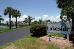 Lakeside Entry Drive and Sign