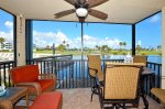 IV1-101 Screened Patio Overlooking the IRP Resort Golf Course & Lakes