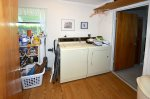Laundry Room Accessed from Kitchen