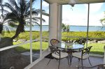 Ground Floor Screened Patio With Wide Water Intracoastal View