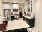 Spacious kitchen with all modern amenities
