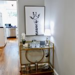 Stylish furnishings and funky artwork create a fun space to relax