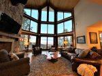 Peak1-6000 sq ft Luxury Lodge, 5BR, 5.5Baths, 5 decks, Sleeps 22