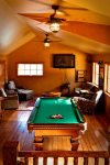 Community Clubhouse with game room and pool