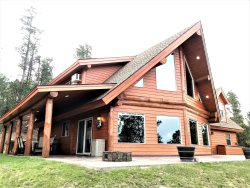 Aly's Getaway- 4BR, 4.5 Bath Log Cabin with panoramic views