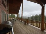 Covered deck off of Dining and Great Room
