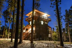 Lookout Tower - New 5BR Cabin with Pool Access