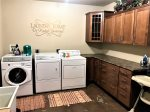 Laundry Room - Washer and 2 Dryers