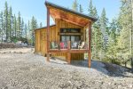 Base Camp - Newly built cabin at Terry Peak
