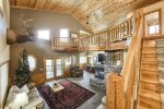 Grand View Lodge - Panoramic View, Pool Table, Hot tub, Gas Fire Pit