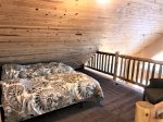 Upper Level has a loft with two twin beds