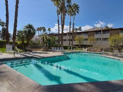 Downtown Palm Springs Second Floor Retro-Modern Condo