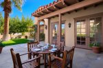 Outdoor Dining Off of Formal Dining Room