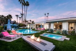 Golf Course Estate With Pool-Side Cabanas & Tesla Charger