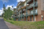 Durango Colorado vacation rental condo at Purgatory Resort balcony w mountain views