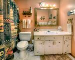 Bath in Purgatory Ski Resort vacation rental condo in Durango Colorado