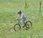 Mountain biking for all ages at Purgatory Resort vacation rental ski condo Durango Colorado
