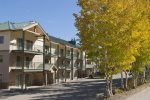 Front of Purgatory Townhomes in Fall Color
