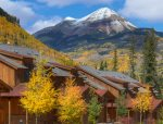 Durango Colorado vacation rental condo Black Bear Townhomes Purgatory Resort fall mountain views