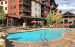 Durango Colorado vacation rental condo Black Bear Townhomes Purgatory Resort swimming pool