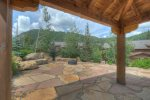 Durango Colorado vacation rental condo Black Bear Townhomes Purgatory Resort gazebo picnic area