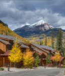 Durango Colorado vacation rental condo Black Bear Townhomes Purgatory Resort fall color mountain views