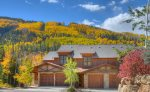 Durango Colorado vacation rental condo Black Bear Townhomes Purgatory Resort fall color aspen mountains