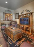 Living room in Durango Colorado vacation rental condo Black Bear Townhomes Purgatory Resort