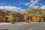 Durango Colorado vacation rental condo Black Bear Townhomes Purgatory Resort Fall color views
