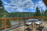 Lake View House vacation rental home Durango Colorado outdoor dining