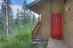 Lake View House vacation rental home Durango Colorado summer forest