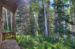 Lake View House vacation rental home Durango Colorado summer aspen woods