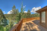Lake View House vacation rental home Durango Colorado main deck
