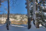 Lake View House vacation rental home Durango Colorado winter snow