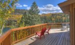 Lake View House vacation rental home Durango Colorado panorama deck