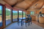 Lake View House vacation rental home Durango Colorado dining room