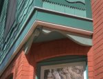 Detail of Historic Victorian Furlow House in Downtown Durango